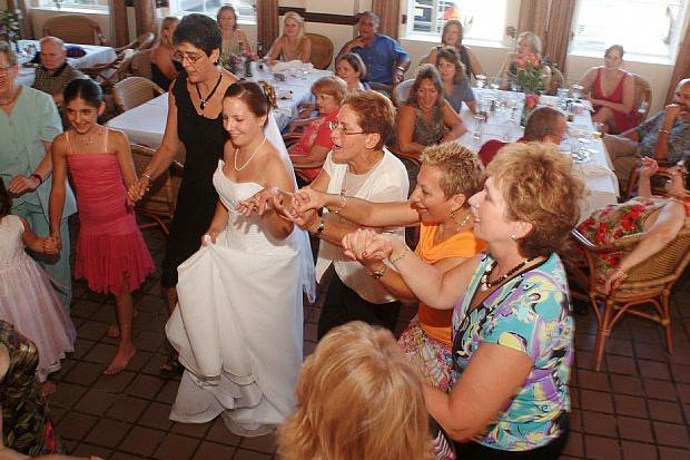 Dancing at Jacksonville Weddingdin