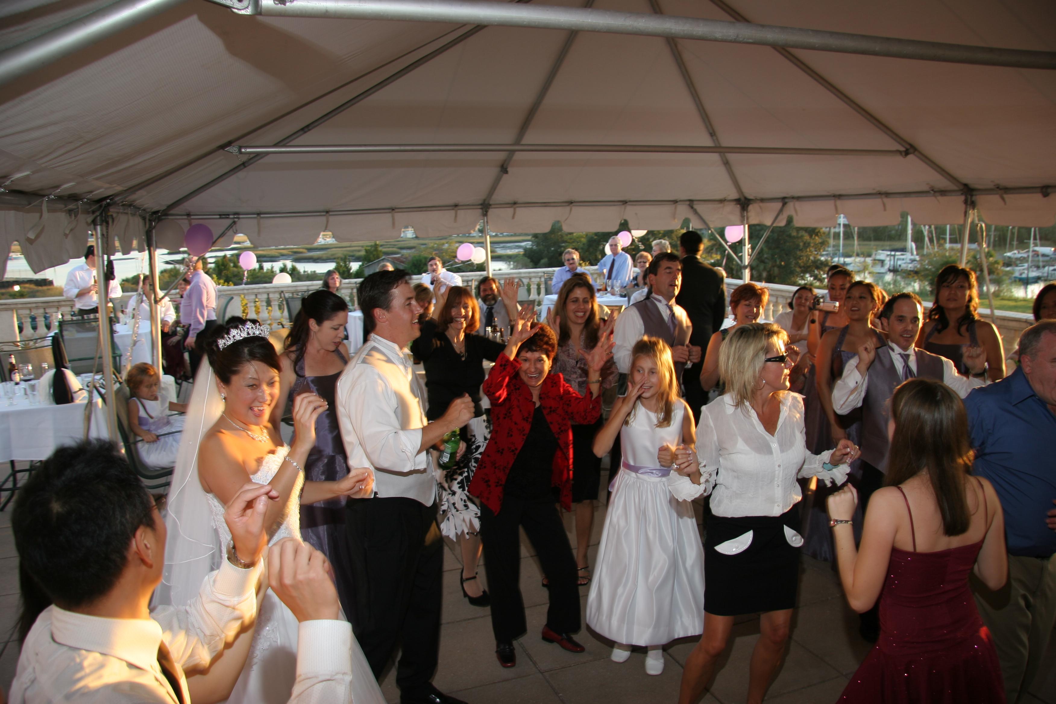 Wedding Dancing in Saint Augustine