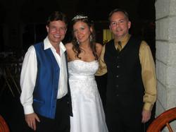 Jay & Roderick with Bride Samantha