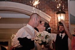 Wedding Kiss in the Moonlight