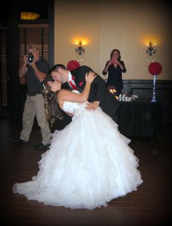 Bride & Groom Kiss