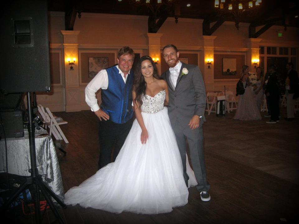 Jay Rock With Bride & Groom