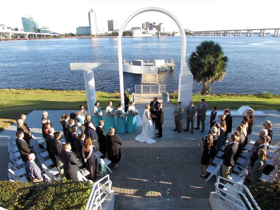 Wedding Ceremony on The St. Johns