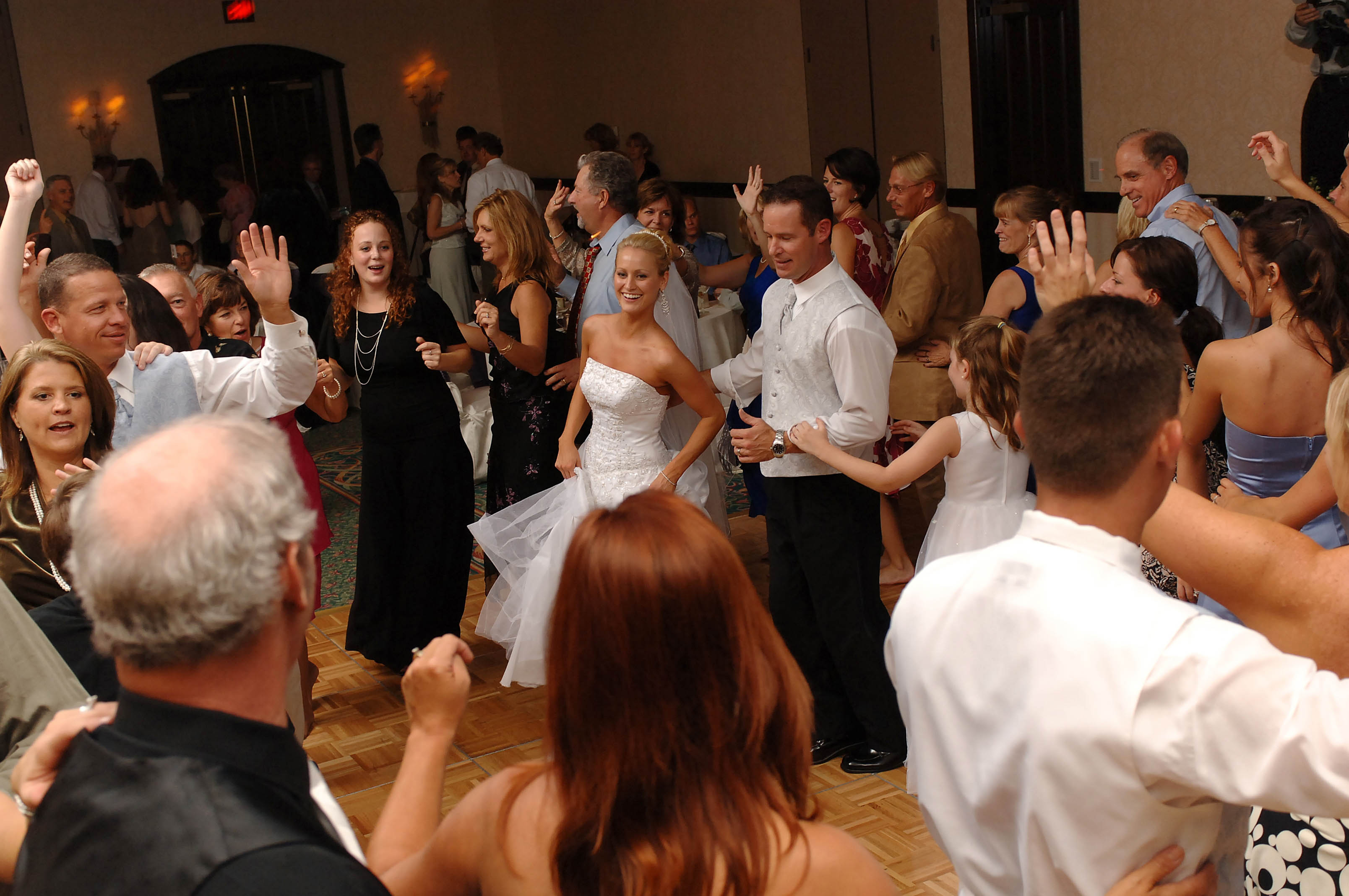 Bride And Groom Dance To Dj