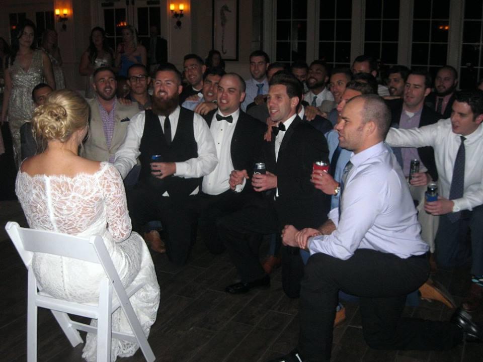 Wedding Fun with the Bride!