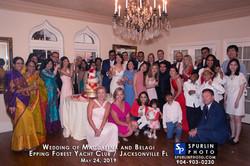 Indian-Polish Wedding Group Pic