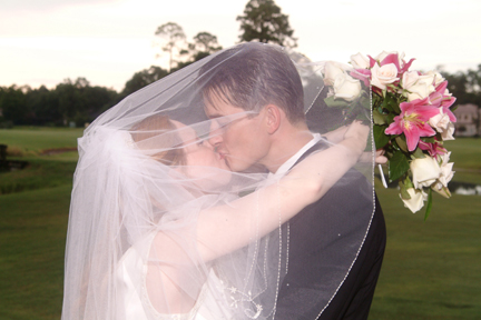 Kissing Under The Bridal Veil