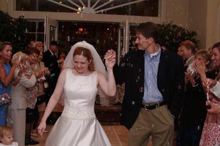 Bride & Groom Exit Wedding