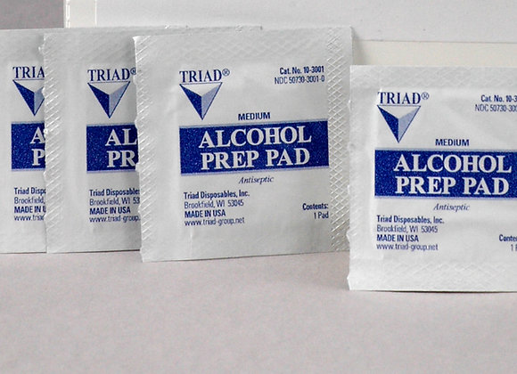 Alcohol Swabs, 20ct