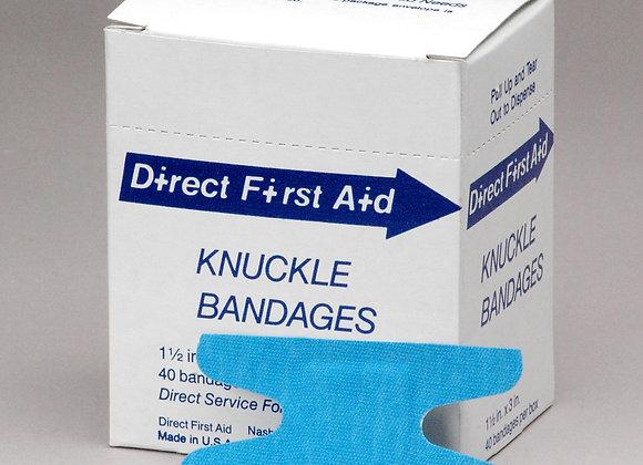 Knuckle Bandage, 40ct, Blue