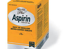 Aspirin, 100ct