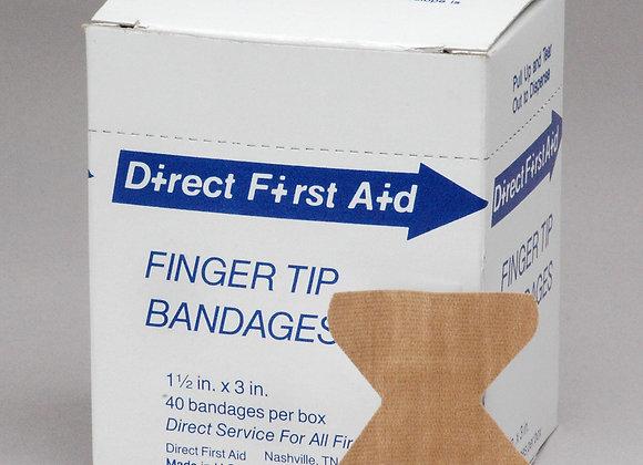 Finger-tip Bandages, 40ct, Neutral