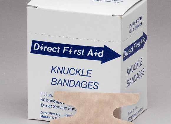 Knuckle Bandage, 40ct, Neutral