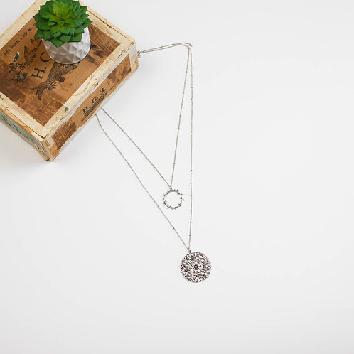 Medallion Style - Double Necklace
