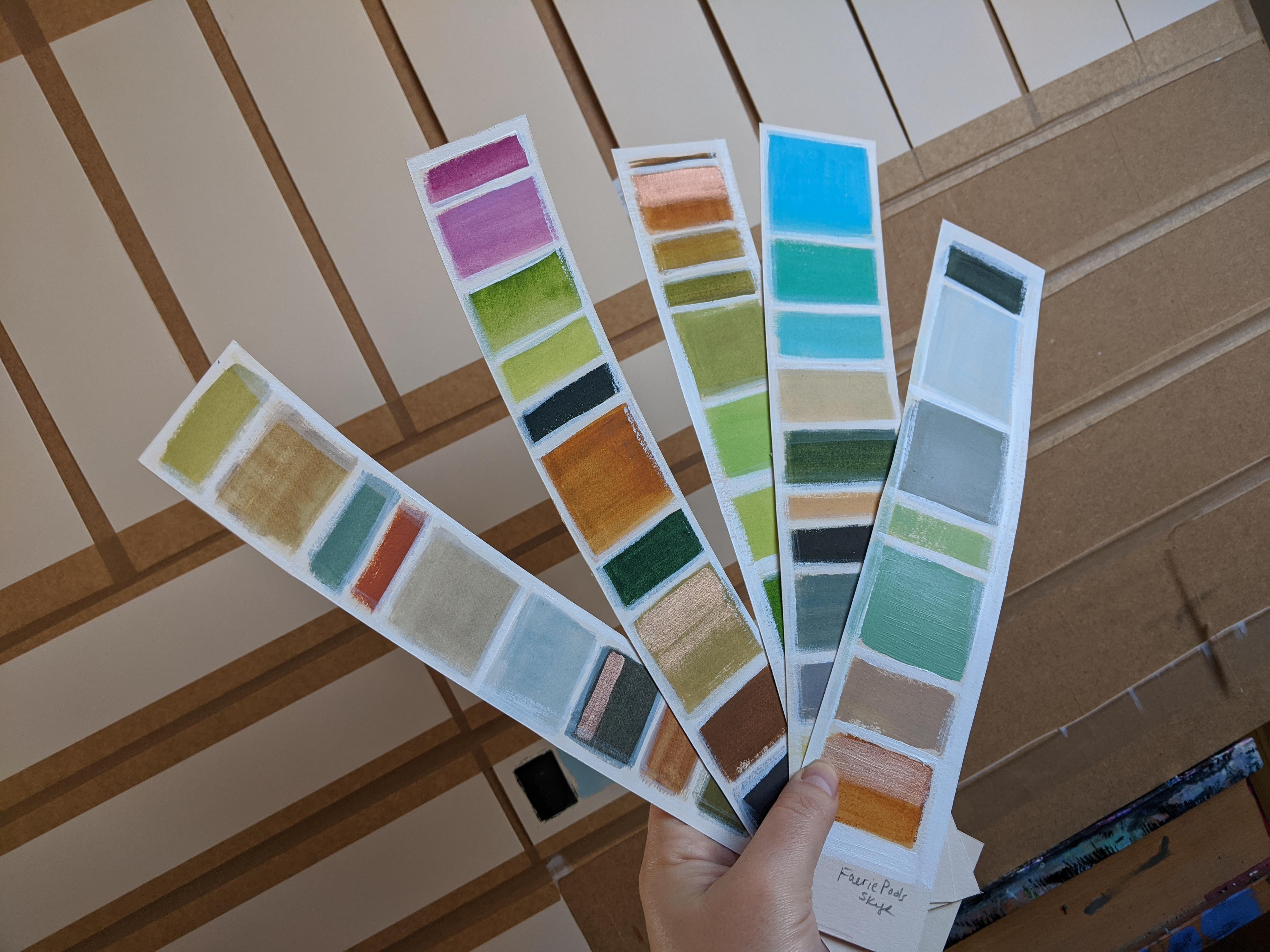 Landscape Colour Charts
