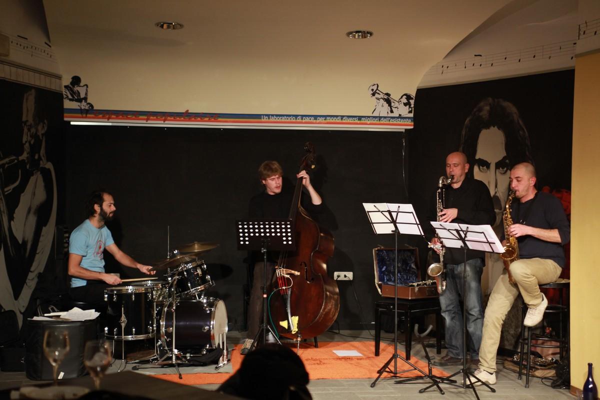 Rhizome 4tet - con Riccardo Giovinetto, Giulio Corini e Nelide Bandello