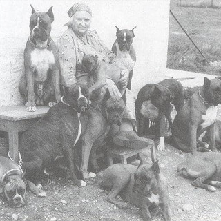 Frau Stockmann & her boxers