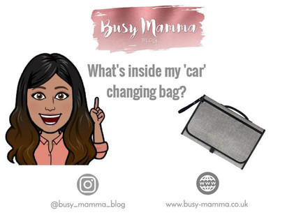 """What's inside my """"car"""" changing bag?"""