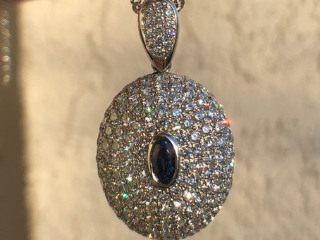 Design Diary: Making of a Star Sapphire & Diamond Necklace