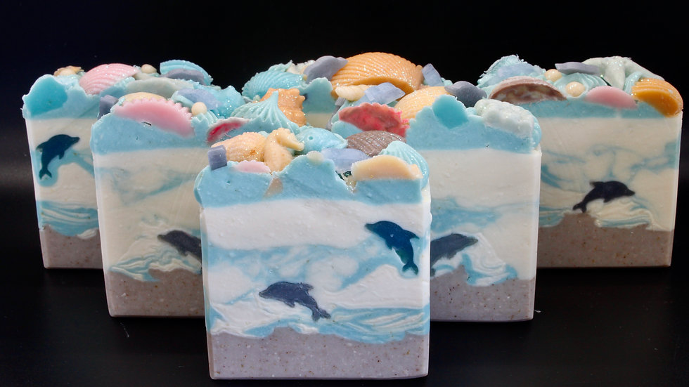 Dolphins World Soap