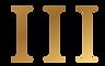 Gold-Roman-Numeral-3