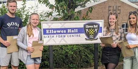 Invictus Sixth Ellowes Campus Students Celebrate Incredible Results!