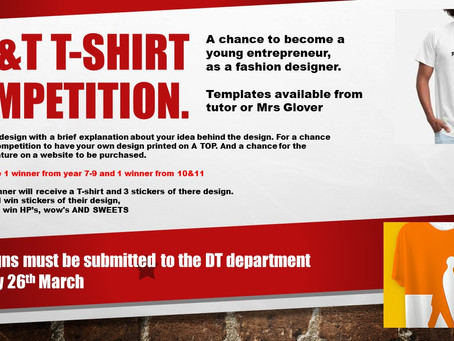 D&T T-shirt Competition!