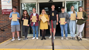 Invictus Sixth Form Students Celebrate Exam Results Success!