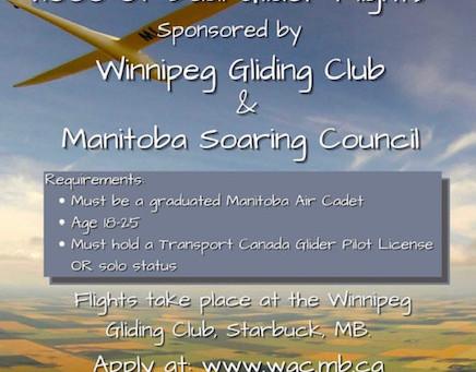 Manitoba Soaring Scholarship Opportunity