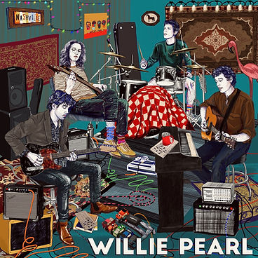 Paint Me In Willie Pearl Cover with word