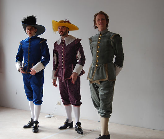 Cyrano - théâtre - costumes