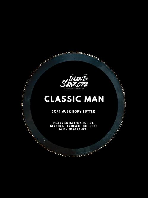 Classic Man Soft Musk Body Butter