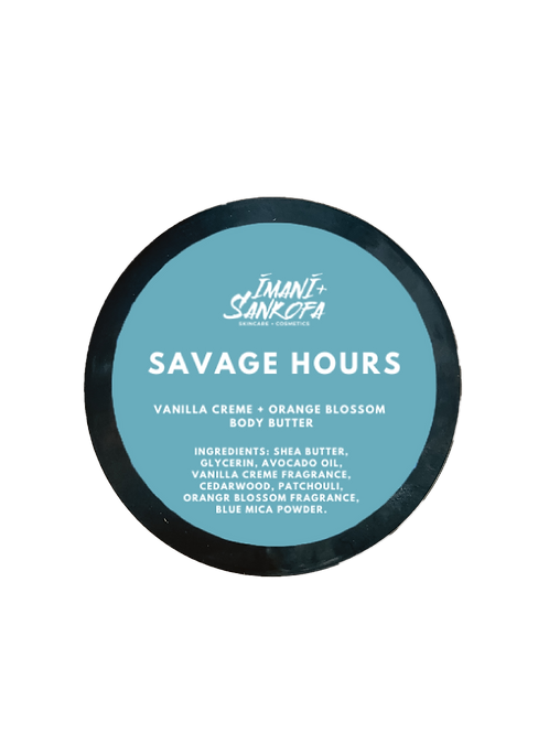 Savage Hours Vanilla Creme + Orange Blossom Body Butter