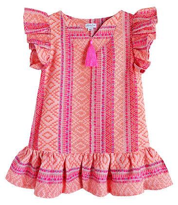 Neon Textile Pullover Dress