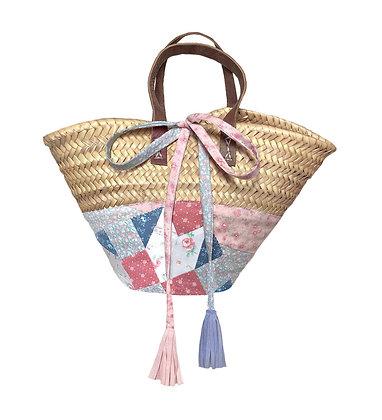 Mini Vintage Quilt Basket