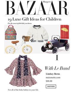 Lindsey Berns - Harper's Bazaar