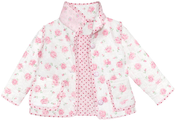 Kids 2T: Pink Tumbling Roses