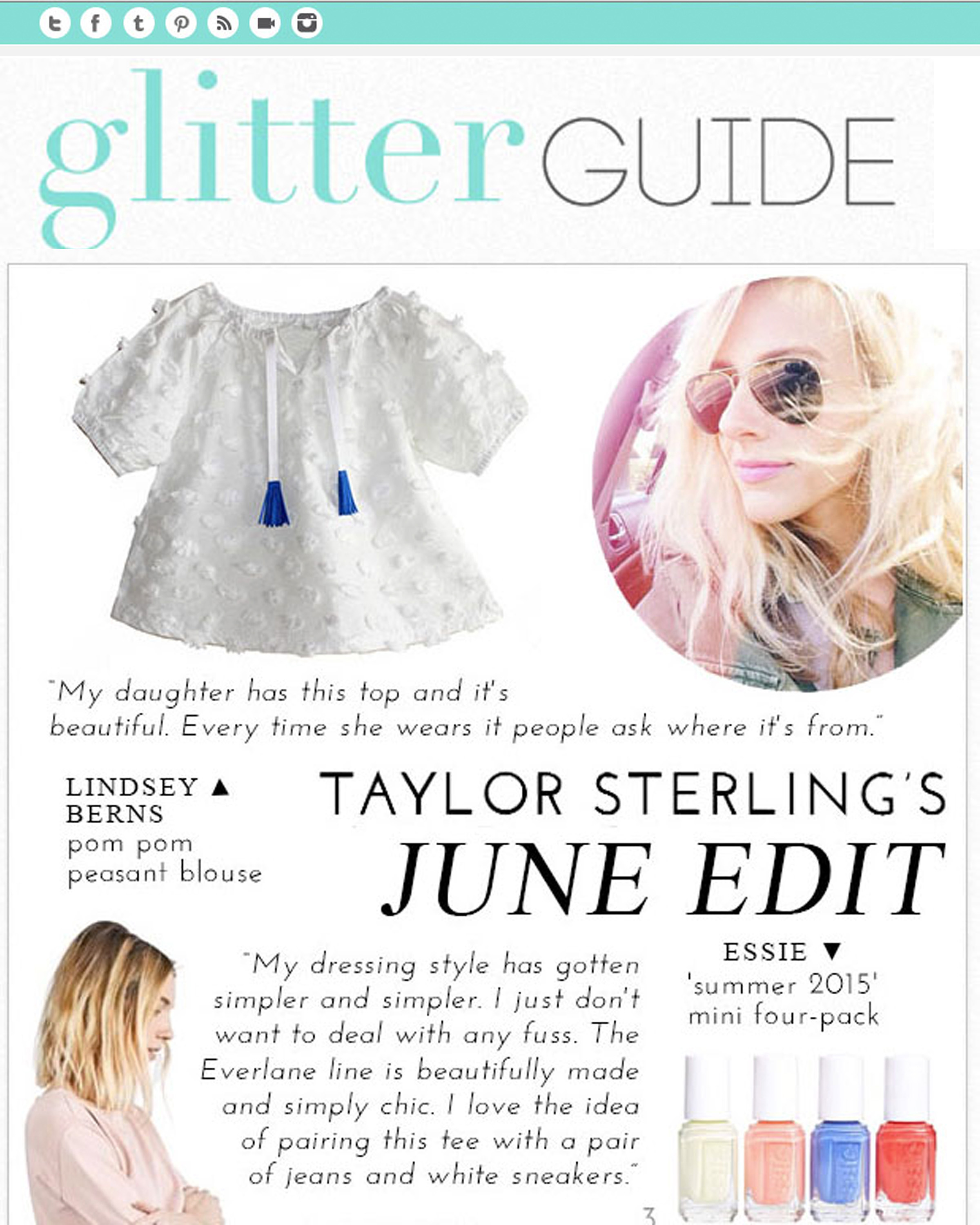 Glitter Guide Lindsey Berns
