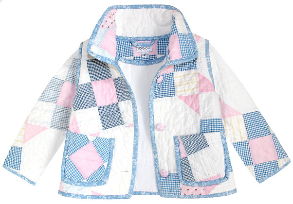 Kids 2T: Pink Blue Check