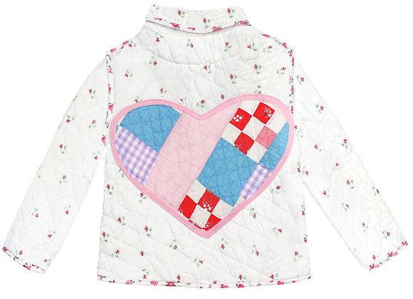 Kids 6y: Patchwork Heart Rosebud