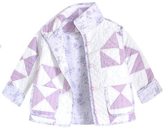 Kids 6y: Lavender Ditsy Floral