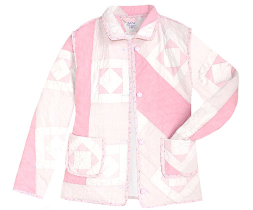 Adult Medium: Soft Geometric Pink
