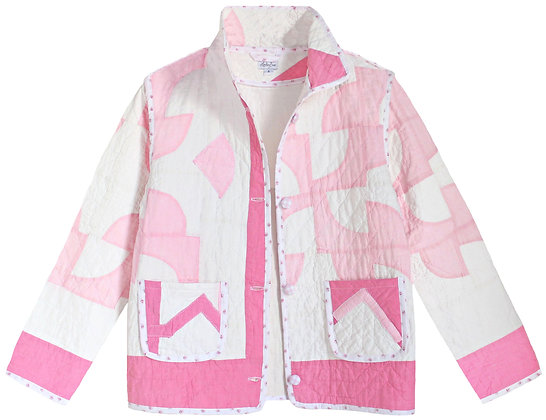 Adult Small - Two Tone Pink Patchwork