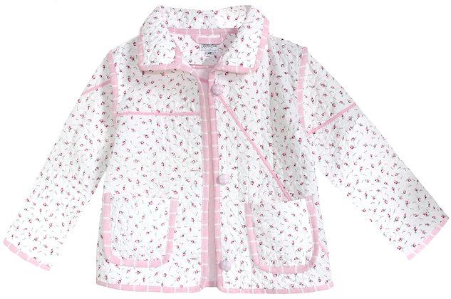 Kids 4-5t Vintage Quilt Jacket - Vintage Rosebud