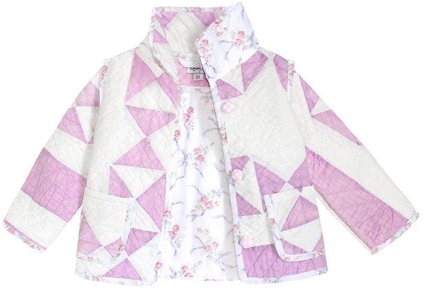 Kids 2T: Lilac Ribbons & Roses