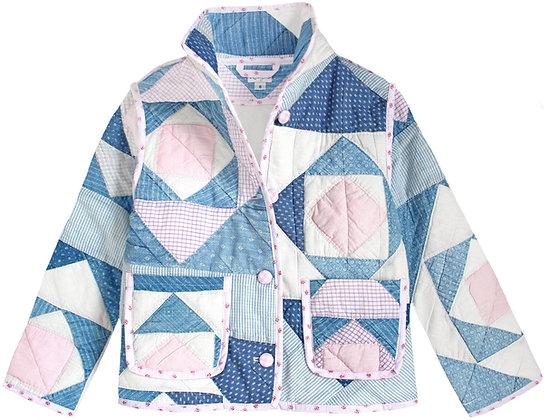 Kids 8y: Blue & Pink Geometric