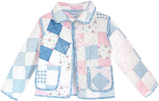 Kids 6T: Pink Blue Rosebud