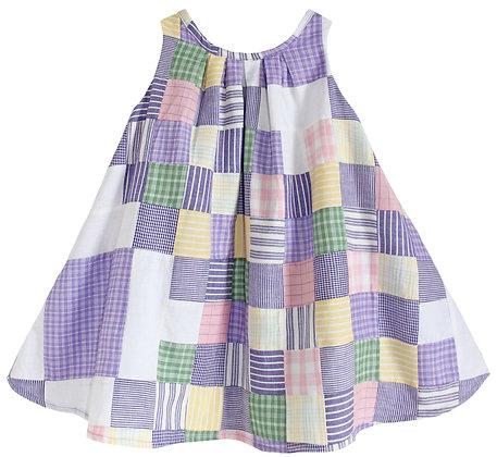 Lavender Patchwork Dress