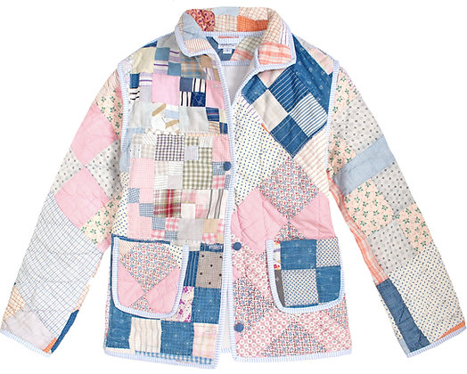 Adult Small: Peachy Pink Indigo Patch