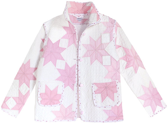 Adult Large - Pink Eight Point Star